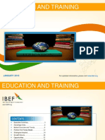 Education and Training January 2016