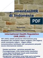 DR Hari Santoso-Implementasi IHR Di Indonesia