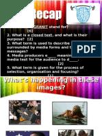 media codes lesson