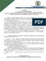115.Ordin Nr.2537-30.08.2013 Pentru Extinderea Desemnarii Societatii Comerciale SRAC CERT S.R.L. in Vederea Notificarii La Comisia Europeana