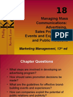 Marketing - Kotler - Managing Mass communication