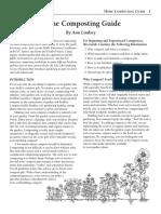 Uputstvo za pravljenje komposta (na engleskom)