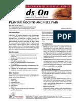 Exercise Sheet Plantar