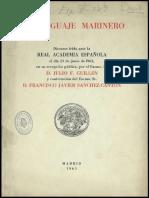 Legados Fundación Caja Mediterráneo. Discurso de Ingreso Julio F. Guillen Tato en la Real Academia. Junio 1963