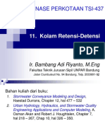 11 Kolam Retensi - Detensi