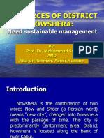 Presentation on NOWSHERA