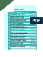 Planilla Notas 2016