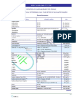 Analises de Aguas Residuais - Parametros Diversos