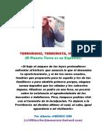 Terrorismo, Terrorista, Violencia