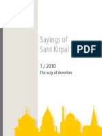 Sayings of Sant Kirpal Singh