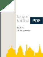 Sayings of Sant Kirpal Singh