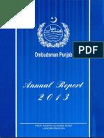Ombudsman AnnualReport2013