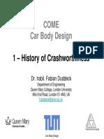 History of Crashworthiness