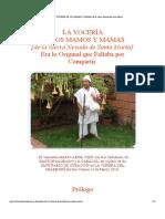 LA VOCERÍA DE LOS MAMOS Y MAMAS de la Sierra Nevada de Santa Marta