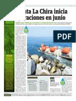 Planta La Chira Inicia Sus Operaciones en Junio