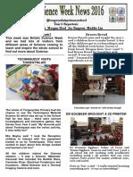 Tongwynlais Primary Science Week
