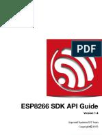 2C-ESP8266 SDK Programming Guide en v1.4