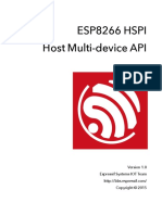 8q Esp8266 Hspi Host Multi Device API en v1.0