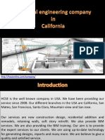 Structural Engineering Companies in California