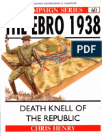 Osprey - Campaign 060 - The Ebro 1938 Death Knell of the Republic