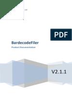 BardecodeFiler Manual