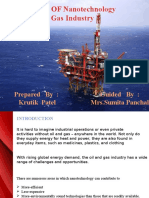 Application Of Nanotechnology for Oil and Gas Industry