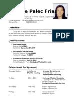 MY CV ( AIZA)