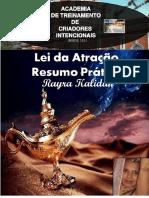 E-book (Rayra Kalidan) Lei Da Atração - Resumo PRÁTICO