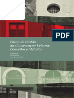 Plano de gestão da Conservação urbana