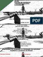 A Territorialização Do Capital No Campo e Os Povos Tradicionais Da Região Do Nordeste Do Brasil