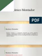 Mecânico Montador- Introdução