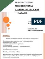 CLASSIFICATION & IDENTIFICATION OF PROCESS HAZARD