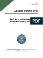 Facility security manual. Руководство по обспечению безопасности объектов МО США