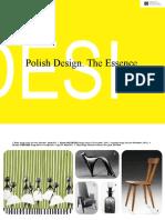 Polish Design. The Essence.