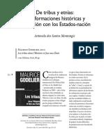 De Tribus y Etnias_transformaciones Históricas y Vinculación Con Los Estados-nación_Godelier2010