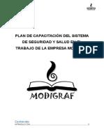 Plan de Capacitación SSO