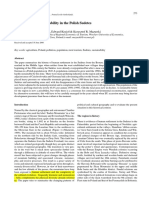 Settlement and Sustainability in the Polish Sudetes Edited