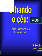 Observacao Do Ceu