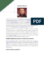 INFORME de Gualberto Villarroel