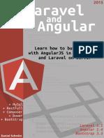 Laravel and Angularjs Sample