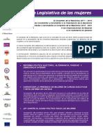 Agenda Legislativa de las Mujeres 2011-2016.