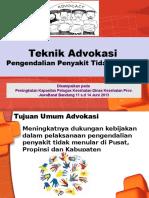 Advokasi PPTM  2013