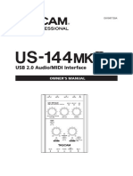 Tascam US-144MKII Manual