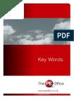 football keywords booklet