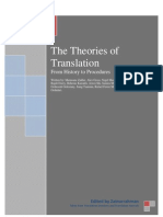 Translation Theories Edited by Zainurrahman