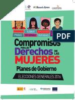 Compromisos por los Derechos de las Mujeres Elecciones 2016