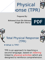 Total Physical Response (TPR)[1]