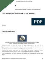 Uso Pedagógico Do Telefone Móvel (Celular) _ Professor Digital