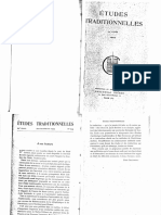 Revue Études Traditionnelles 1953