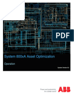 System 800xA Asset Optimization 6.0 Operation